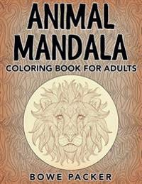Animal Mandala: Coloring Book for Adults