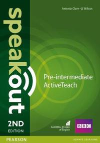 Speakout pre-intermediate 2nd edition active teach
