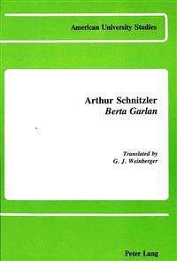 Arthur Schnitzler Berta Garlan
