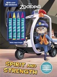 Disney Zootopia Spirit and Strength: With Crayon Keeper!