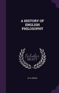 A History of English Philosophy