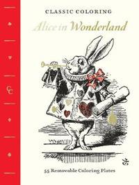 Classic Coloring: Alice in Wonderland