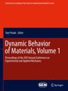 Dynamic Behavior of Materials