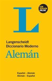 Langenscheidt Diccionario Moderno Alemán - Buch und Online