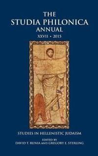 The Studia Philonica Annual 2015