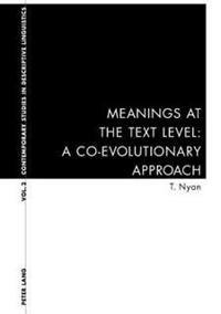 Meanings at the Text Level