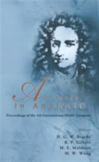 ADVANCES IN ANALYSIS - PROCEEDINGS OF THE 4TH INTERNATIONAL ISAAC CONGRESS