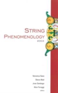 STRING PHENOMENOLOGY 2003, PROCEEDINGS OF THE 2ND INTERNATIONAL CONFERENCE
