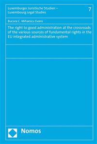 The Right to Good Administration at the Crossroads of the Various Sources of Fundamental Rights in the Eu Integrated Administrative System