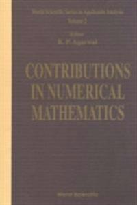 CONTRIBUTIONS IN NUMERCIAL MATHEMATICS