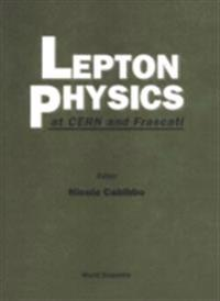 LEPTON PHYSICS AT CERN AND FRASCATI