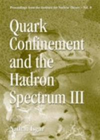 QUARK CONFINEMENT AND THE HADRON SPECTRUM III, JUN 98, USA
