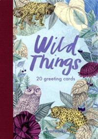 Wild Things : 20 greeting cards