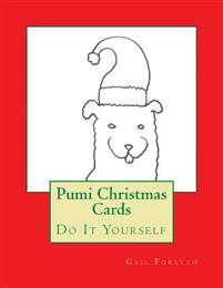 Pumi Christmas Cards: Do It Yourself