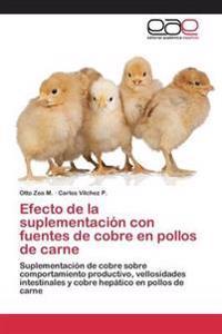 Efecto de la Suplementacion Con Fuentes de Cobre En Pollos de Carne
