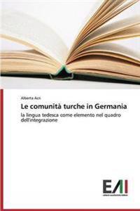 Le Comunita Turche in Germania