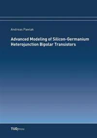 Advanced Modeling of Silicon-Germanium Heterojunction Bipolar Transistors