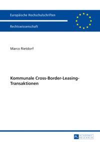 Kommunale Cross-Border-Leasing-Transaktionen