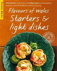 Flavours of wales - starters & light dishes