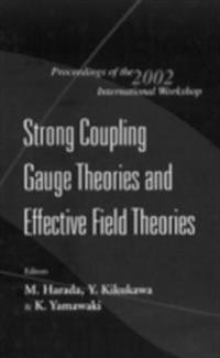 STRONG COUPLING GAUGE THEORIES AND EFFECTIVE FIELD THEORIES, PROCEEDINGS OF THE 2002 INTERNATIONAL WORKSHOP