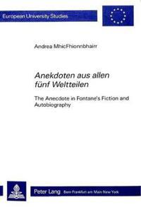 """Anekdoten aus Allen Funf Weltteilen"""