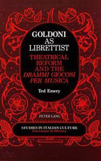 Goldoni As Librettist