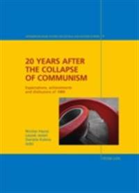 20 Years after the Collapse of Communism