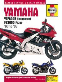 Haynes Yamaha YZF600R Thundercat & FZS600 Fazer 96 to 03