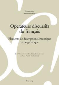 Operateurs discursifs du francais