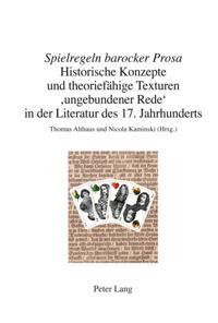 Spielregeln barocker Prosa
