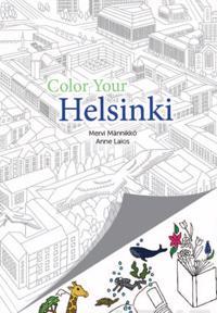 Color Your Helsinki - Helsinki värityskirja