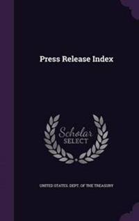 Press Release Index