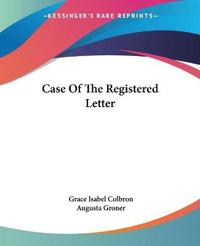 Case Of The Registered Letter