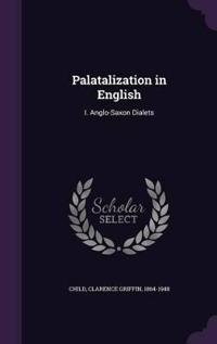 Palatalization in English