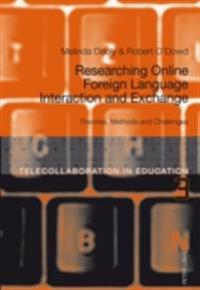 Researching Online Foreign Language Interaction and Exchange