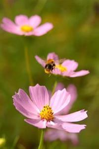 Flowers and a Bee (for the Love of Gardening): Blank 150 Page Lined Journal for Your Thoughts, Ideas, and Inspiration