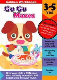 Go Go Mazes, 3-5 Yrs.
