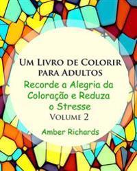 Um Livro de Colorir Para Adultos: Recorde a Alegria de Colorir E Reduza O Estresse Volume 2