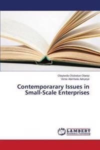 Contemporarary Issues in Small-Scale Enterprises