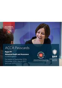 Acca p7 advanced audit and assurance (uk) - passcards