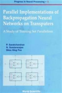 Parallel Implementations Of Backpropagation Neural Networks On Transputers: A Study Of Training Set Parallelism