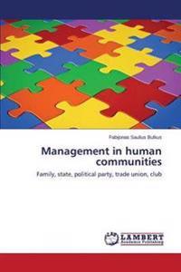 Management in Human Communities