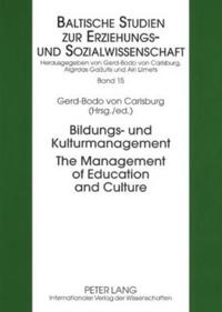 Bildungs- und Kulturmanagement- The Management of Education and Culture