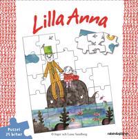 Lilla Anna pussel 25 bitar - Inger Sandberg - böcker (9789129699609)     Bokhandel