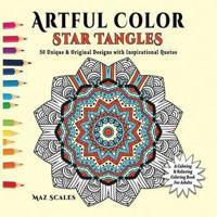 Artful Color Star Tangles