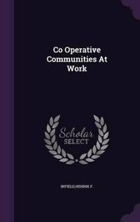 Co Operative Communities at Work