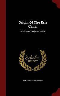 Origin of the Erie Canal