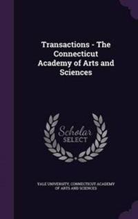 Transactions - The Connecticut Academy of Arts and Sciences