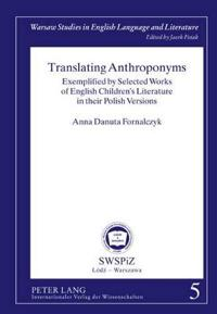 Translating Anthroponyms