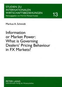 Information or Market Power